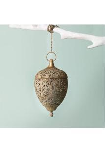 Luminária Bamaco Cor: Ouro - Tamanho: Único
