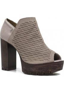 Sandal Boot Tanara Casual Couro