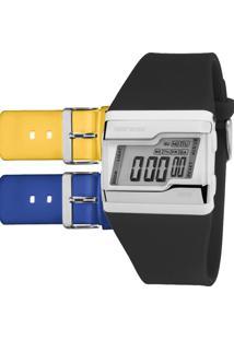 aacedbf0e8e46 Relógio Digital Fivela Mormaii feminino
