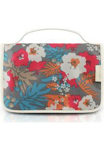 Necessaire De Viagem Jacki Design Estampada - Feminino-Floral