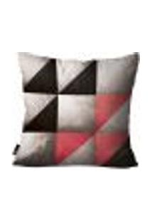 Capa Para Almofada Geométrica 45X45Cm Colorido