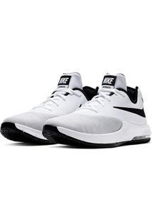 Tênis Nike Air Max Infuriate Iii Low Masculino - Masculino-Branco+Preto
