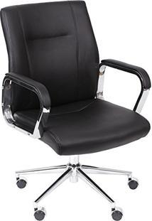 bae87dcc12 ... Cadeira Ávila Escritório Preta Or Design 3308