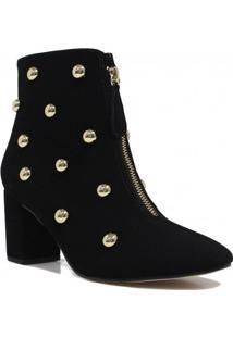Bota Zariff Shoes Ankle Boot Metais