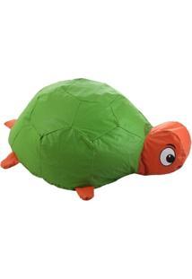 Puff Infantil Tartaruga Nobre Colorido - Unissex