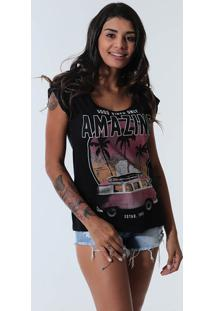 Camiseta Vintage Feminina Km