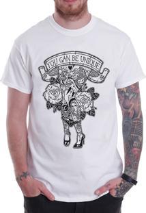Camiseta Hypnotic Be Unique Branco