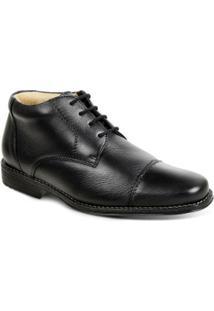 Sapato Polo State Darci - Masculino-Preto