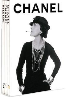 Assouline Conjunto Com 3 Livros Chanel - Branco