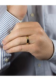 Aliança De Casamento Em Ouro 18K 5,0Mm Anatômica