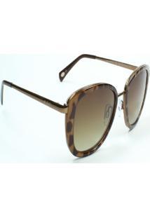 Óculos De Sol Jf Sun Lilith-Tartaruga-Marrom Degradê