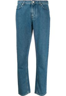 Ps Paul Smith Calça Jeans Slim - Azul