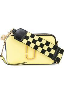 Marc Jacobs Bolsa Transversal Snapshot - Amarelo