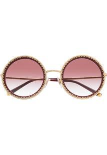Dolce & Gabbana Eyewear Cuore Sacro Sunglasses - Vermelho
