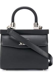 Rodo Push-Lock Tote Bag - Preto