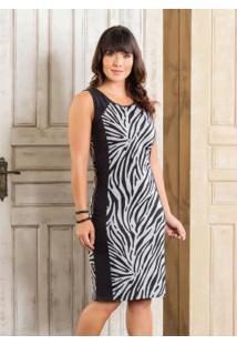 7cf163dd74 ... Vestido Preto E Zebra Moda Evangélica