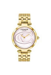 Relógio Coach Feminino Aço Dourado - 14503211