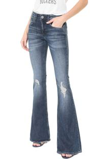 Calça Jeans John John Flare Alimos Azul