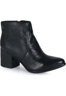 Ankle Boots Feminina Bottero Torino Preto