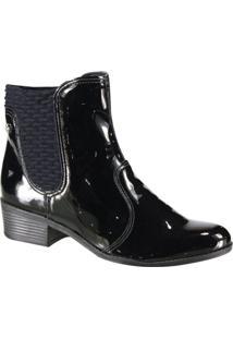 Bota Feminina Ankle Boot Cravo E Canela