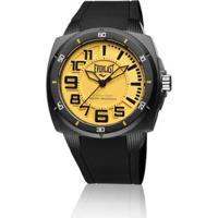 bbbee200e2a Relógio Pulso Everlast Bold E677 Caixa Abs Pulseira Silicone - Masculino