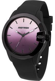 Relógio Mormaii Analógico Mo2035Bc Feminino - Feminino-Preto+Roxo