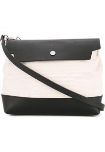 Cabas Bolsa Tiracolo 'Micro Shoulder' Média - Branco