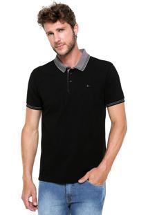 Camisa Polo Aramis Simple Preta
