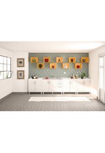 Cozinha Modulada Floripa #20 Com Gabinet
