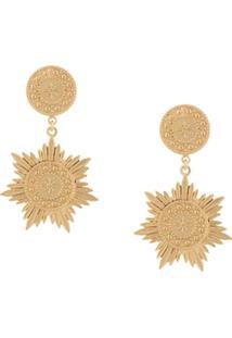 Meadowlark Soren Drop Earrings - Dourado