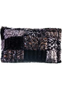 Porta Travesseiro De Pele Zebra