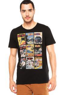 Camiseta Fashion Comics Batman Preta