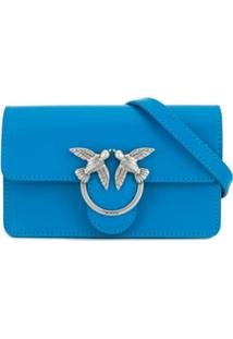 Pinko Baby Love Simply Cross Body Bag - Azul
