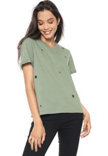 Blusa Cativa Ilhoses Verde