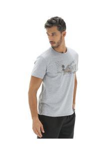Camiseta Timberland Vintage City - Masculina - Cinza
