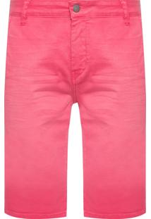 Bermuda Masculina Color - Rosa