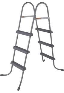 Escada Para Piscina Bel Lazer 3 Degraus Antiderrapante 107Cm