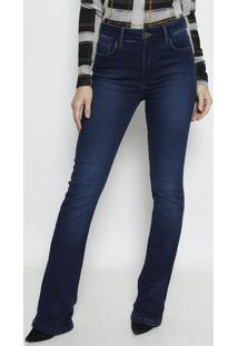 Jeans Marisa 2 Boot Cut- Azul Escuro- Forumforum