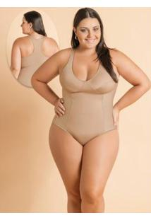 Body Modelador Plus Size Chocolate