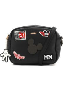 Bolsa Mickey Mouse Mickey Mouse Preta