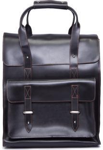 Bolsa Atlas Backpack Workbag - Preto