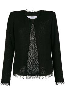 Iro Tweed Jacket - Preto