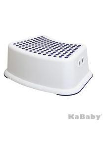 Banquinho De Banheiro 1 Degrau Azul Kababy