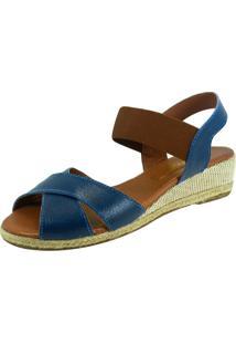 Sandália Anabela S2 Shoes Lorena Marinho