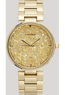 Relógio Analógico Mondaine Feminino - 99365Lpmvde2 Preto - Único