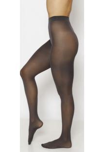 Meia Calça Opaca- Cinza Escuro- Fio 40Trifil