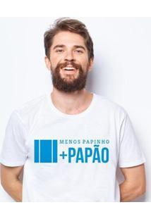 Camiseta Zé Carretilha Papão Papinho Masculina - Masculino