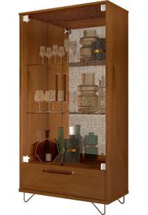 Cristaleira Jb 4045 Luxo Caramelo Madeira