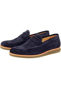 Sapato Sandro Moscoloni Connor Azul Royal
