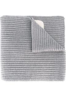 Fendi Echarpe De Lã - Cinza